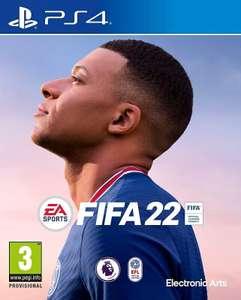 FIFA 22 sur Switch à 30.9€, sur PS4 & Xbox One à 52.8€ ou sur PS5 & Xbox Series S/X à 60.49€ (+10€ en BA utilisable dès 50€ via Casino Max)