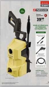 Nettoyeur haute pression Parkside - 110 bars, 6 litres/min, 1300W