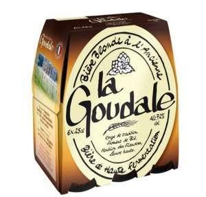 Pack de 6 bières blondes La Goudale (6 x 25 cl) - Versailles (78)