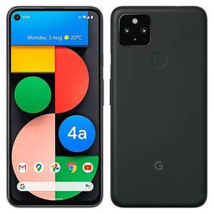 "Smartphone 6.2"" Google Pixel 4A 5G - 6 Go RAM, 128 Go (+12.72€ en Rakuten Points)"