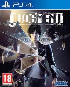 Judgment sur PS4 (Retrait magasin uniquement)