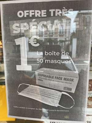 Boite de 50 masques chirurgicaux - Clamart (92)