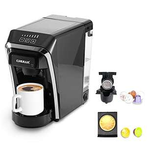 Cafetière à capsule Chulux compatible Nespresso et Dolce Gusto (Via Coupon - Vendeur Tiers)