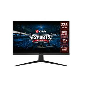 "Écran PC 23.8"" MSI Optix G241V - full HD, LED IPS, 75 Hz, 4 ms, FreeSync"