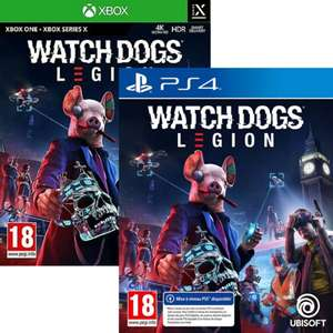 Watch Dogs Legion sur PS4 (+ Update PS5) ou Xbox One (+ Update Series X)