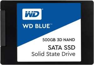"""SSD interne 2.5"""" Western Digital Blue (DRAM, TLC) - 500 Go"""