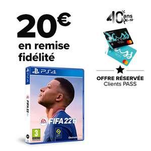 [Carte Pass] FIFA 22 sur PS4 (via 20€ sur la carte de fidélité)