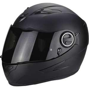 Casque moto Scorpion EXO-490 Solid - XS au 2XL - Noir mate