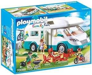 Jouet Playmobil Caravane et vacanciers (70088)