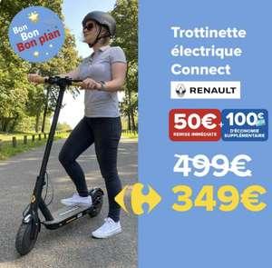 [Carte Pass] Trottinette électrique Renault Connect (via 100€ sur la carte de fidélité)