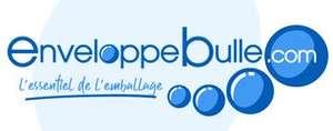 10% de réduction dès 80€ d'achat (hors déstockage, produits personnalisés et promotions) - EnveloppeBulle.com