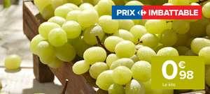 Raisin blanc Catégorie 1 Variété Italia (le kilo)