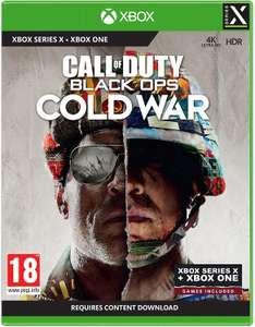 Jeu Call of Duty Black Ops : Cold War sur Xbox Series X (Frontaliers Belgique)