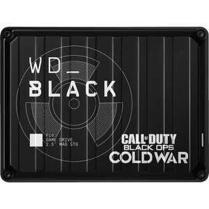 """Disque Dur Externe 2,5"""" - WD Black P10 Game Drive 2 To, USB 3.0 - Édition Call of Duty®: Black Ops Cold War Special"""