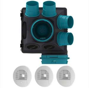 Kit VMC simple flux hygroréglable Sauter