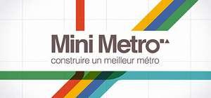 Mini Metro sur PC (Dématérialisé - Steam)