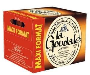 Pack de 12 bouteilles de Bière blonde ou ambrée La Goudale - 12 x 25 cl