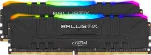 Kit Mémoire DDR4 Crucial Ballistix RGB (BL2K8G32C16U4BL) 16 Go (8 Go x 2) - 3200 MHz, CL16