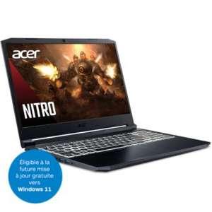 "PC Portable 15.6"" Acer Nitro 5 AN515-45-R5VT - Full HD, Ryzen 9 5900HS, 16 Go RAM, HDD 1 To + SSD 512 Go, RTX 3080, Windows 10"