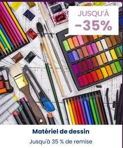 Sélection de matériels de dessin en promotion