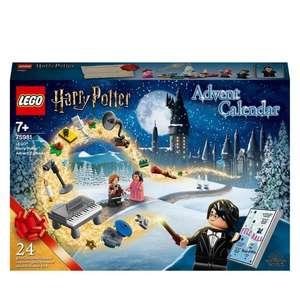 Jouet Lego Calendrier de l'Avent Harry Potter 2020 (75981) (Retrait Magasin Uniquement)