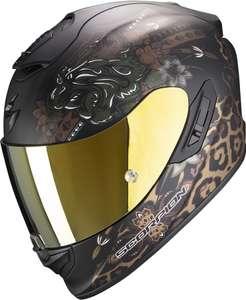 Casque de moto Scorpion Exo 1400 Air Toa - noir mat/or (tailles L, XL ou XXL)