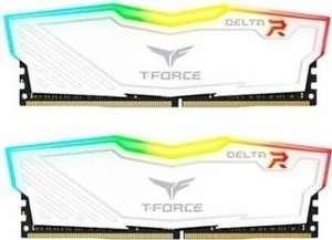Kit de RAM Team T-Force Delta RGB DDR4-3600 CL18 - 32 Go (2x16)