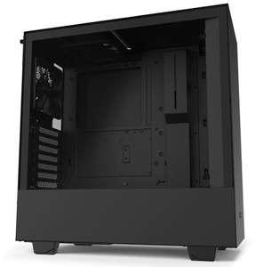 Boîtier PC NZXT H510 - noir ou noir/rouge