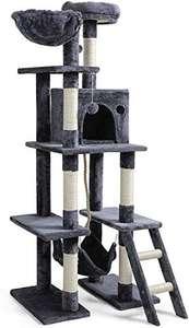 Arbre à chat géant Rabbitgoo - 155 cm, gris foncé (vendeur tiers)