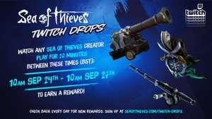 Contenu Twitch Drops gratuit pour Sea of Thieves en regardant 20 minutes de live Twitch sur Sea of Thieves (dématérialisé)