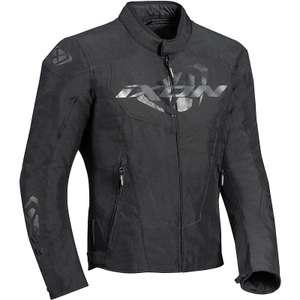 Blouson moto en textile Ixon Cobra - Toutes saisons, protections CE niveau 2 coudes / épaules, Poche dorsale (taille au choix)
