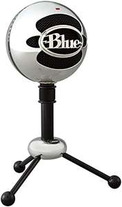 Microphone USB Blue Microphones Snowball - Aluminium brossé