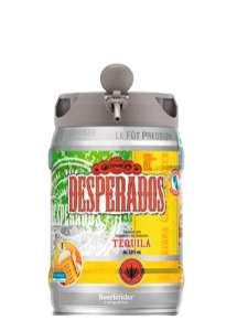 Lot de 2 fûts de bière Desperados - 2 x 5L