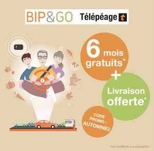[Nouveaux clients] Abonnement au Badge télépéage BipAndGo pendant 6 mois (Frais de mise en service inclus - bipandgo.com)