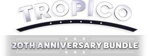 Tropico 20th Anniversary Bundle - Tropico 3: Gold Edition à partir de 1€