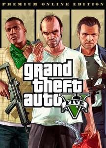 Jeu Grand Theft Auto V: Premium Online Edition sur PC (Dématérialisé, Rockstar)