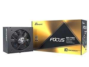 Alimentation PC Full modulaire Seasonic FOCUS GX-750 80+ Gold - 750W