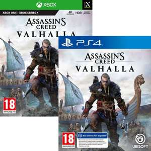 Assassin's Creed Valhalla sur PS4 (+ Upgrade PS5) ou Xbox One (+ Upgrade Series X)