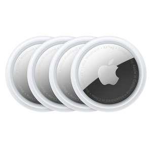 Pack de 4 trackeurs Apple AirTag - Blanc