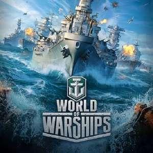 Accès Premium au jeu World of Warships gratuit pendant 3 Jours (Dématérialisé)