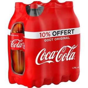 Pack de 6 bouteilles de Coca-Cola (6 x 1.75L) - Laxou La Sapinière (54)