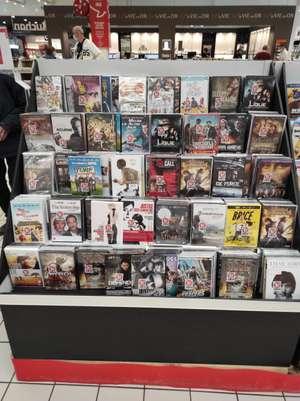 Sélection de DVDs de films ou séries à 1.99€ - Brétigny-sur-Orge (91)
