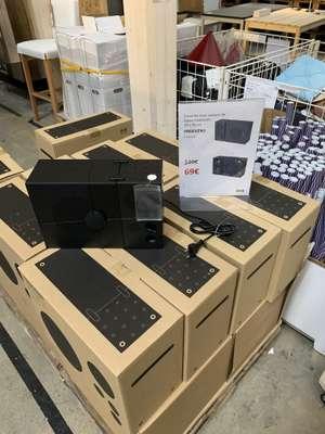 Enceinte Bluetooth Ikea Frekvens, 20 x 30cm - Bordeaux lac (33)
