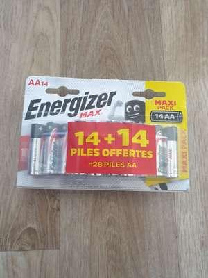 Lot de 28 Piles AA Energizer Max - Rezé (44)