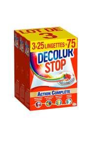 75 Lingettes Decolor Stop (via 4.87€ sur la carte)