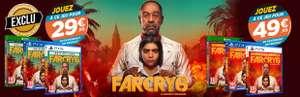 Facry 6 sur PS5/PS4 Et Xbox Series/One pour la reprise d'un jeu parmi une sélection (Edition Gold pour 49.99€)