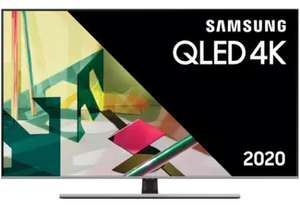 "TV 75"" Samsung QE75Q74TALXXN - 4K UHD, QLED, Smart TV (frontaliers Belgique)"