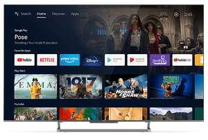 "TV 65"" TCL 65C728 - QLED, UHD, 100 Hz, Dolby Vision, Atmos, HDR10+, HDMI 2.1/eARC, VRR-Son Onkyo (Via ODR de 100€)"