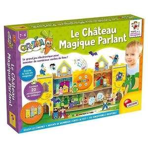 """Jeu pour enfants Liscinani """"Le château magique parlant"""" (+5€ à cagnotter pour les CDAV)"""