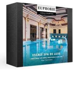 Coffret Smartbox Escale Spa de Luxe - 1 Nuit avec Petit-déjeuner et accès au Spa ou Massage pour 2 Personnes